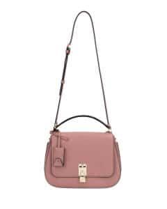 Valentino Pink Joylock Flap Messenger Bag
