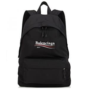 Balenciaga Black Balenciaga 2017 Logo Explorer Backpack Bag