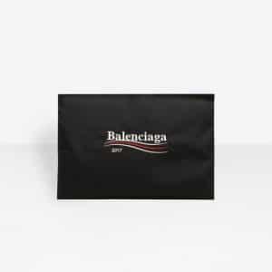 Balenciaga Black Balenciaga 2017 Logo Explorer Pouch Bag