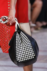 Bottega Veneta Black/White Tote Bag - Spring 2018