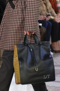 Bottega Veneta Black/Yellow Tote Bag - Spring 2018