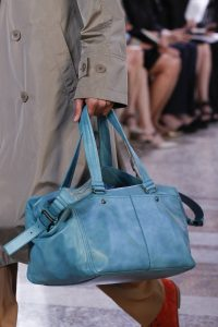 Bottega Veneta Blue Top Handle Bag - Spring 2018