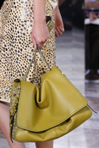Bottega Veneta Green Embellished Shoulder Bag - Spring 2018