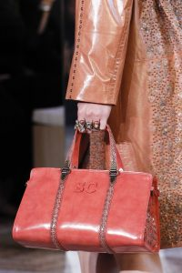 Bottega Veneta Pink Top Handle Bag - Spring 2018