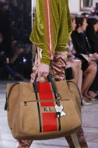 Bottega Veneta Tan/Red Striped Tote Bag - Spring 2018