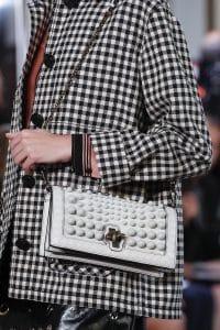 Bottega Veneta White Embellished Olimpia Knot Bag - Spring 2018