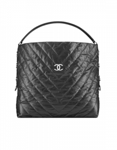 Chanel Black Big Bang Large Hobo Bag