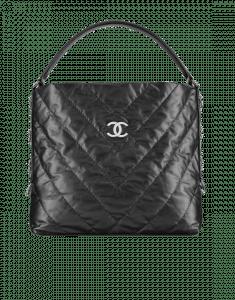Chanel Black Big Bang Small Hobo Bag