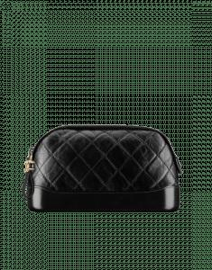 56cc928031ebcc Chanel Black Gabrielle Small Pouch Bag ...
