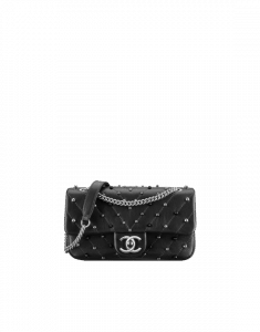 Chanel Black Stud Wars Mini Flap Bag