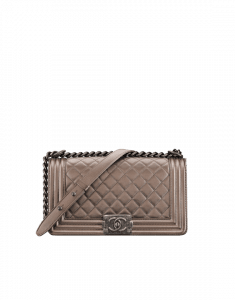Chanel Copper Old Medium Boy Chanel Bag
