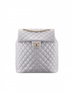 Chanel Gray Urban Spirit Large Backpack Bag