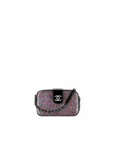 Chanel Multicolor/Black PVC Evening On The Moon Camera Case Bag