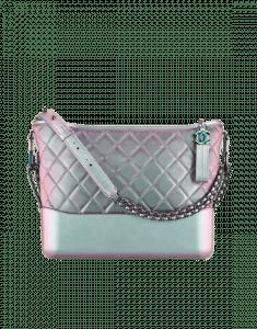Chanel Purple Iridescent Gabrielle Hobo Bag