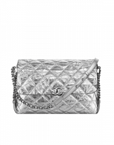 Chanel Silver Big Bang Flap Bag