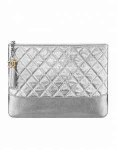 4bfd64c05168 Chanel Silver Gabrielle Large Pouch Bag Chanel Silver Gabrielle Medium  Pouch Bag ...