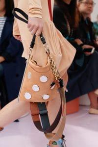 Chloe Caramel Embellished Suede Shoulder Bag - Spring 2018