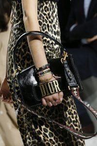 Dior Black Dio(r)evolution Flap Bag with Handle- Spring 2018