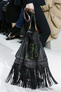 Dior Black Dragon Printed Fringed Crossbody Bag 2 - Spring 2018