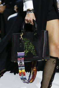 Dior Black Dragon Printed Lady Dior Bag - Spring 2018