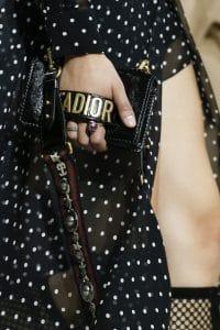 Dior Black J'adior Mini Flap Bag - Spring 2018