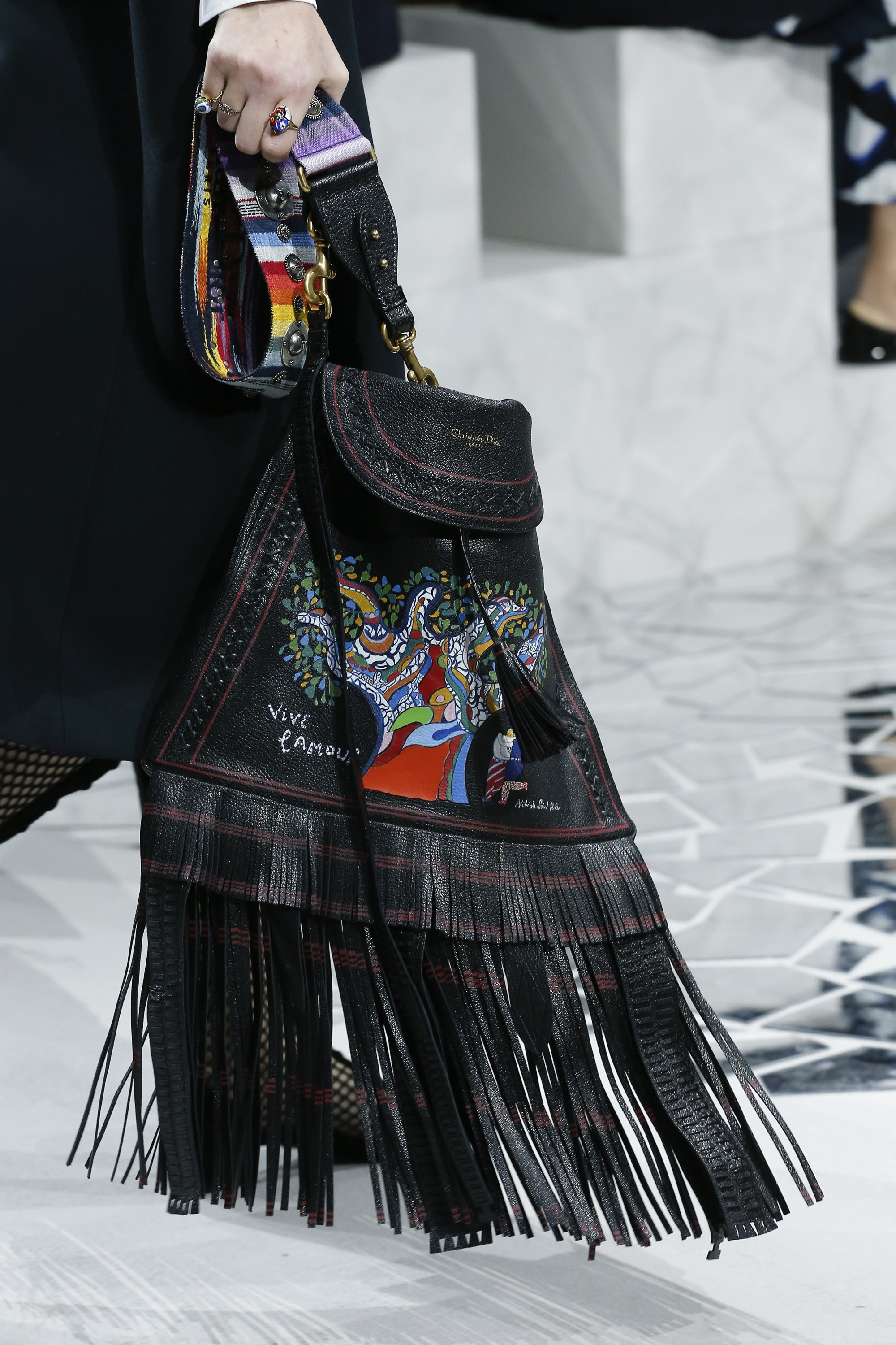 dior spring  summer 2018 runway bag collection