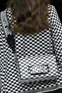 Dior Black/White Checkered Dio(r)evolution Flap Bag 2 - Spring 2018