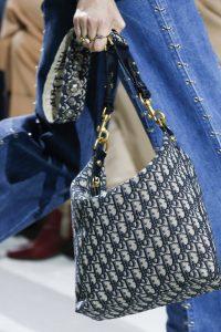 Dior Blue Dior Oblique Canvas Hobo Bag - Spring 2018