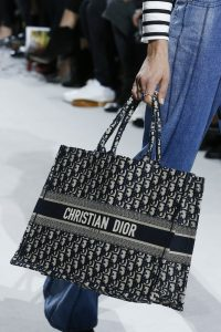 Dior Blue Dior Oblique Canvas Tote Bag - Spring 2018