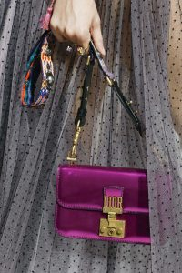 Dior Metallic Violet Dioraddict Flap Bag - Spring 2018
