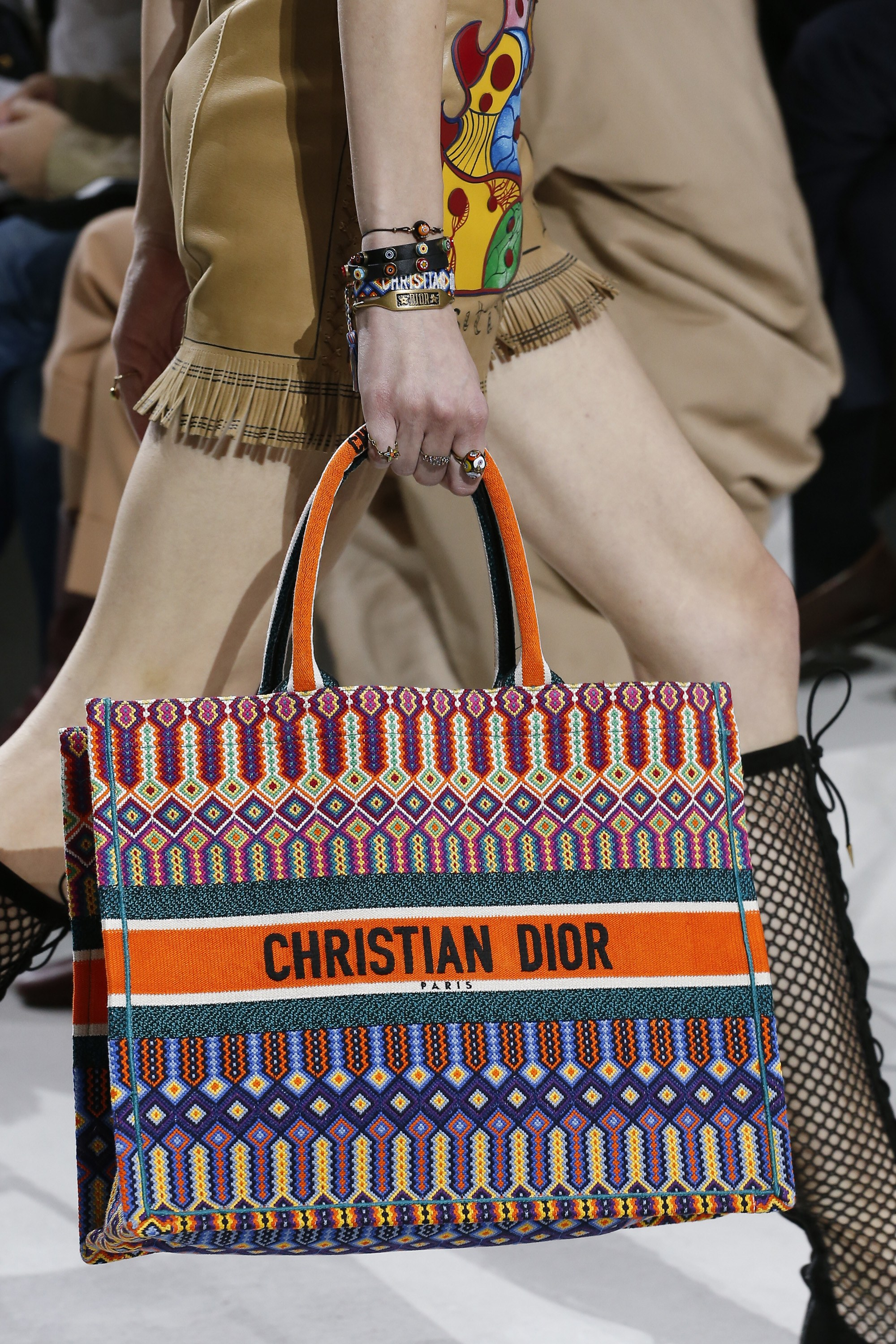 Dior Spring Summer 2018 Runway Bag Collection Spotted