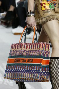 Dior Multicolor Printed Tote Bag - Spring 2018