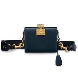 Dior Petrol Blue Dioraddict Small Trunk Bag