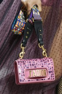 Dior Pink Mosaic J'adior Flap Bag - Spring 2018