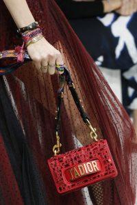 Dior Red Mosaic J'adior Flap Bag - Spring 2018