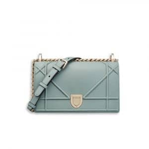 Dior Sea Blue Small Diorama Bag