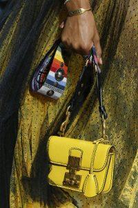 Dior Yellow Dioraddict Mini Flap Bag - Spring 2018