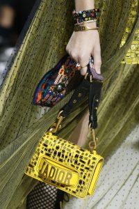 Dior Yellow Mosaic J'adior Flap Bag - Spring 2018