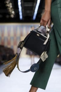 Fendi Black Mini Peekaboo Bag - Spring 2018