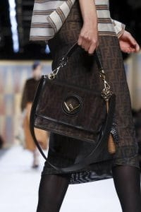 Fendi Brown FF Pattern Kan I F Bag - Spring 2018