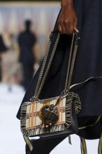 Fendi Multicolor Plaid Kan I F Bag - Spring 2018