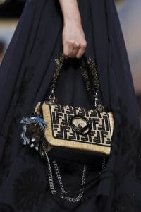 Fendi Natural FF Pattern Kan I F Bag - Spring 2018