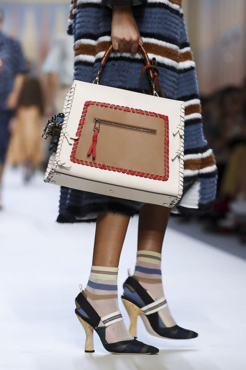 Fendi Spring Summer 2018 Runway Bag Collection Spotted