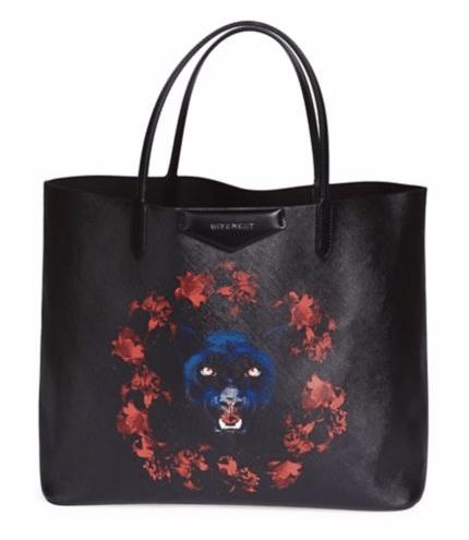 Givenchy Large Antigona Panther Tote