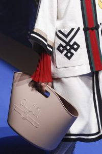 Gucci Beige Rubber Tote Bag - Spring 2018