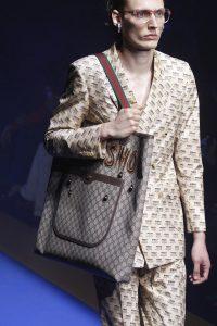Gucci GG Supreme Embellished Tote Bag - Spring 2018