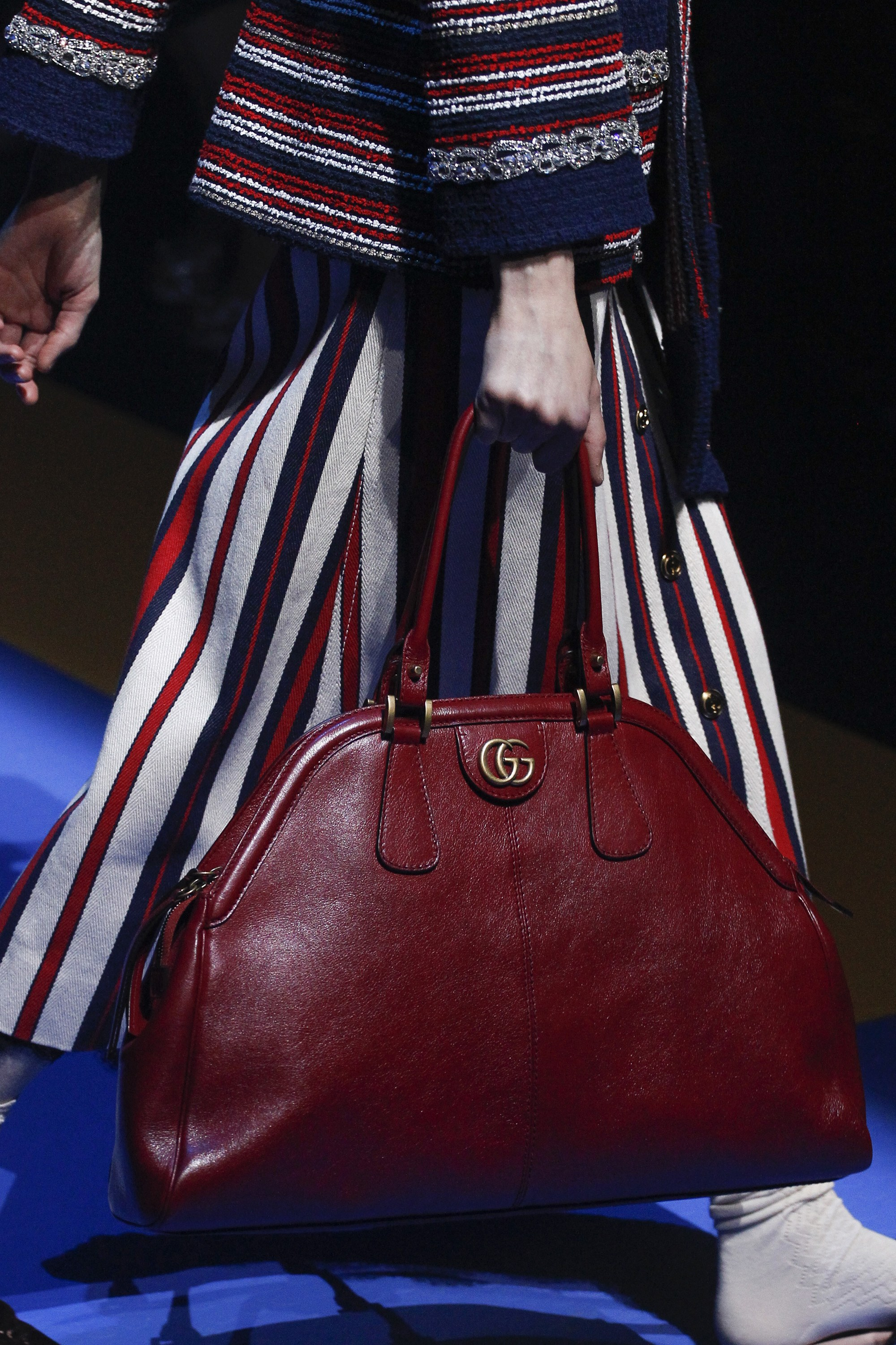 Gucci Spring Summer 2018 Runway Bag Collection Spotted Fashion
