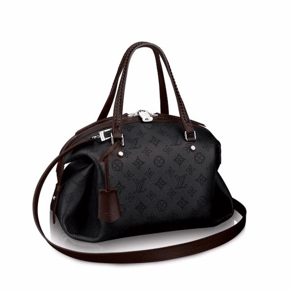 Louis Vuitton Black Mahina Asteria Bag
