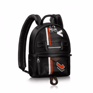 Louis Vuitton Black Printed:Embossed Palm Springs PM Bag