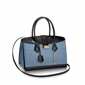 Louis Vuitton Blue Cour Marly MM Bag